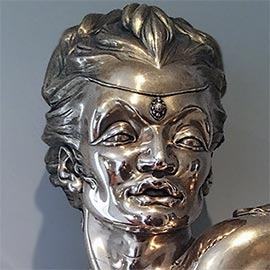 'Exotic Passion' Bronze Bust