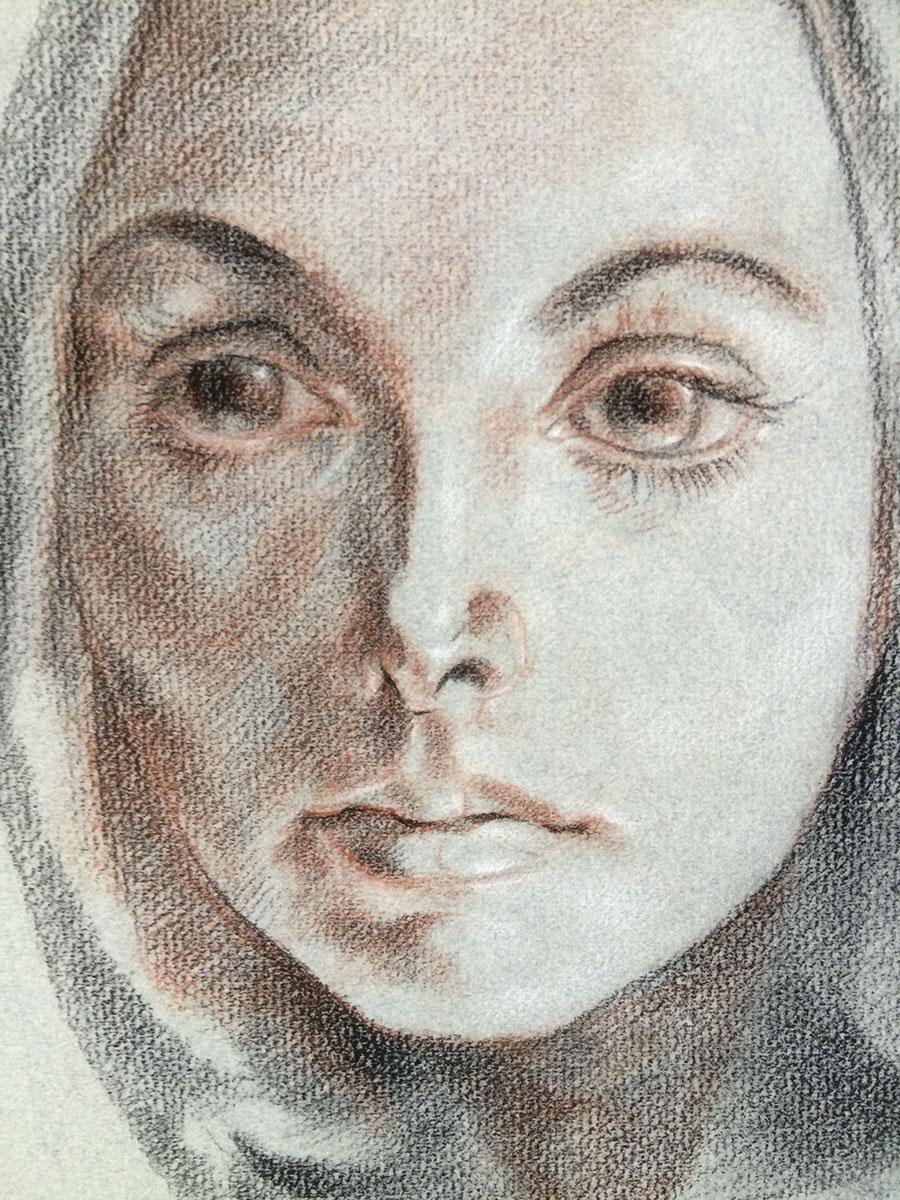Portrait of Mitzi