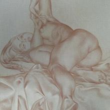 Nude Lying on Side